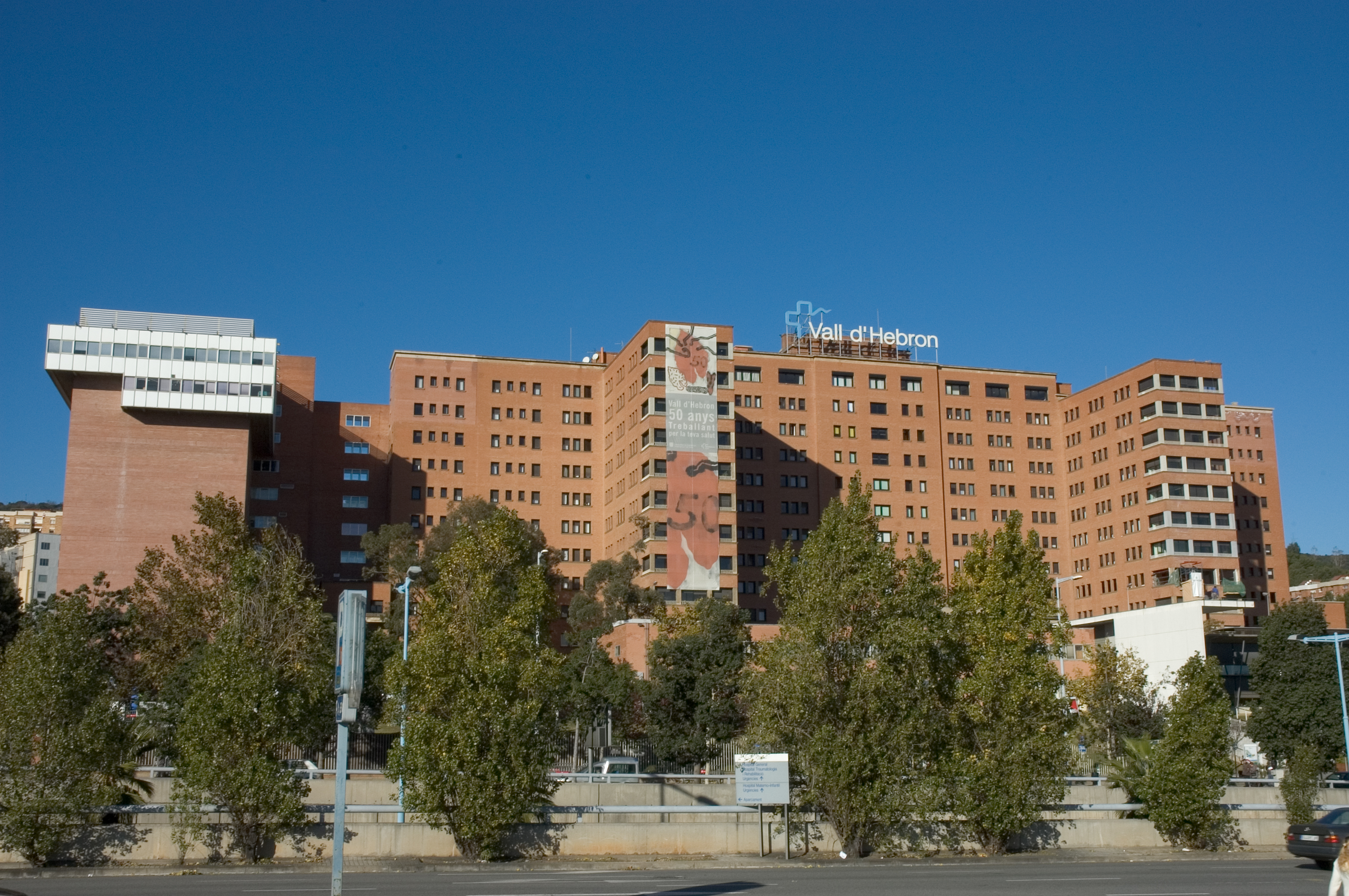 Hospital Vall d'Hebron in Barcelona, Spain.